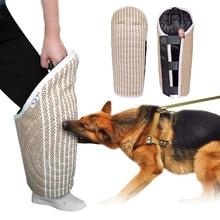 الكلب دغة الأكمام Tugs اللعب K9 التدريب المنتج للكلاب الحيوانات الأليفة حماية الساق للعمل الكلاب الراعي الألماني