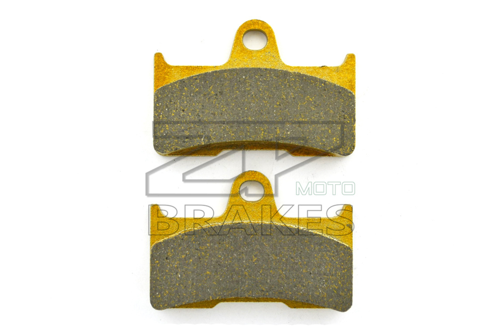 New Brand Organic Brake Pads For Rear ATV YAMAHA YFM 660 Ducks Unlimited Ed.-side by side 2006-2007 Motorcycle BRAKING ZPMOTO brand new smt yamaha feeder ft 8 2mm feeder used in pick and place machine