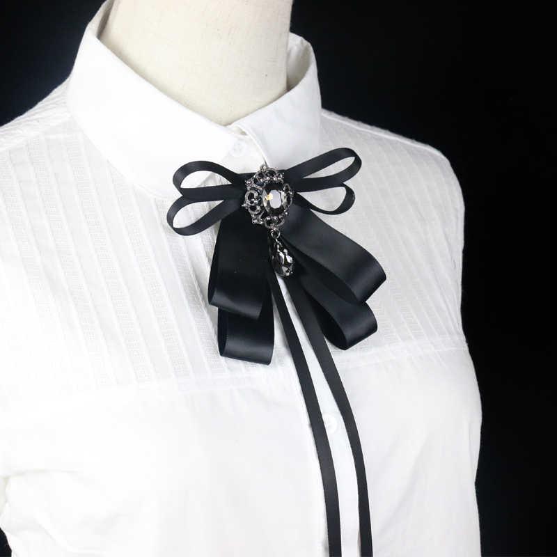 Wkoud Pita Busur Leher Dasi Pernikahan Wanita Kemeja Blus Dasi Sutra Dasi Kupu-kupu Terbaik Pria Mempelai Kerah Pakaian Aksesoris