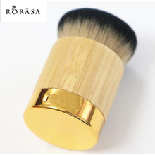 1pcs Professional Bamboo Handle Makeup Brush Tart Powder Foundation Contour Brushes Blending Cosmetic Kabuki Brush Make Up Tools