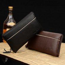 Mens Real Leather Handbags Clutch Business Hand Bag Zipped Wallet Purse Organizer