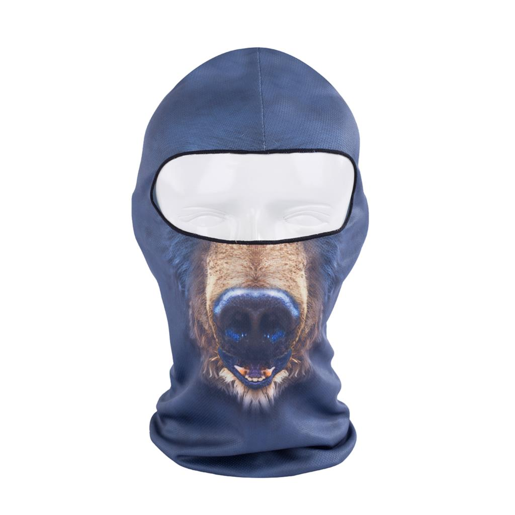 2016 Hot Sale 3d Animal Active Outdoor Sports Bicycle Cycling Motorcycle Masks Ski Hood Hat Balaclava