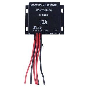 Image 2 - 30A LED MPPT contrôleur de Charge solaire 12V 24V minuterie étanche IP68 360 W/720 W