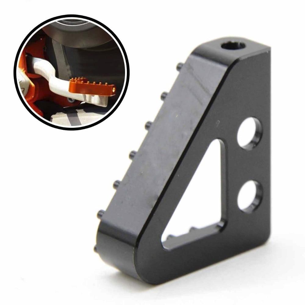 Marca nuevos accesorios de la motocicleta del cnc de aluminio sustain pedal de f