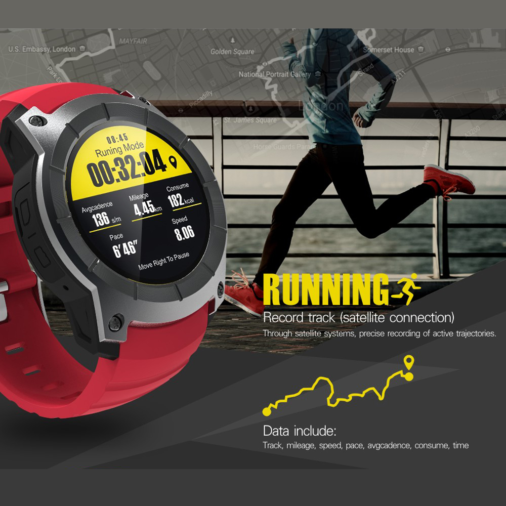 Hot Sensor Cardio Heart Rate Monitor Heart Rate Watch Heart Monitor Smart Watch Gps Air Pressure