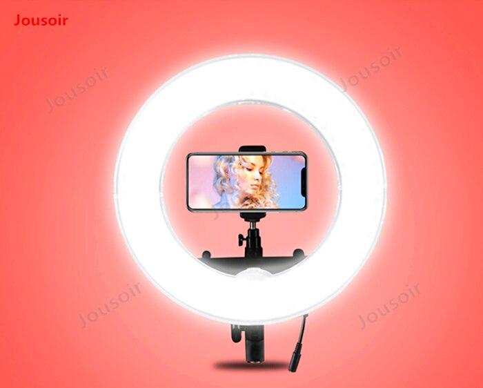 LED extérieur anneau lumière film photographique anneau lampe photo maquillage beauté ancre lumière douce lampe de tir CD50 T03