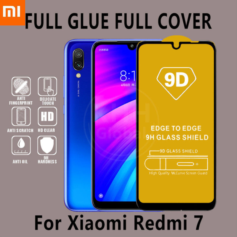Original <font><b>9D</b></font> Tempered glass <font><b>Xiaomi</b></font> <font><b>Redmi</b></font> Note 7 6 Pro 5 Plus <font><b>Redmi</b></font> 6A 6 Pro <font><b>4X</b></font> Note 5A Screen Protector Full Cover <font><b>Redmi</b></font> Note 5 image