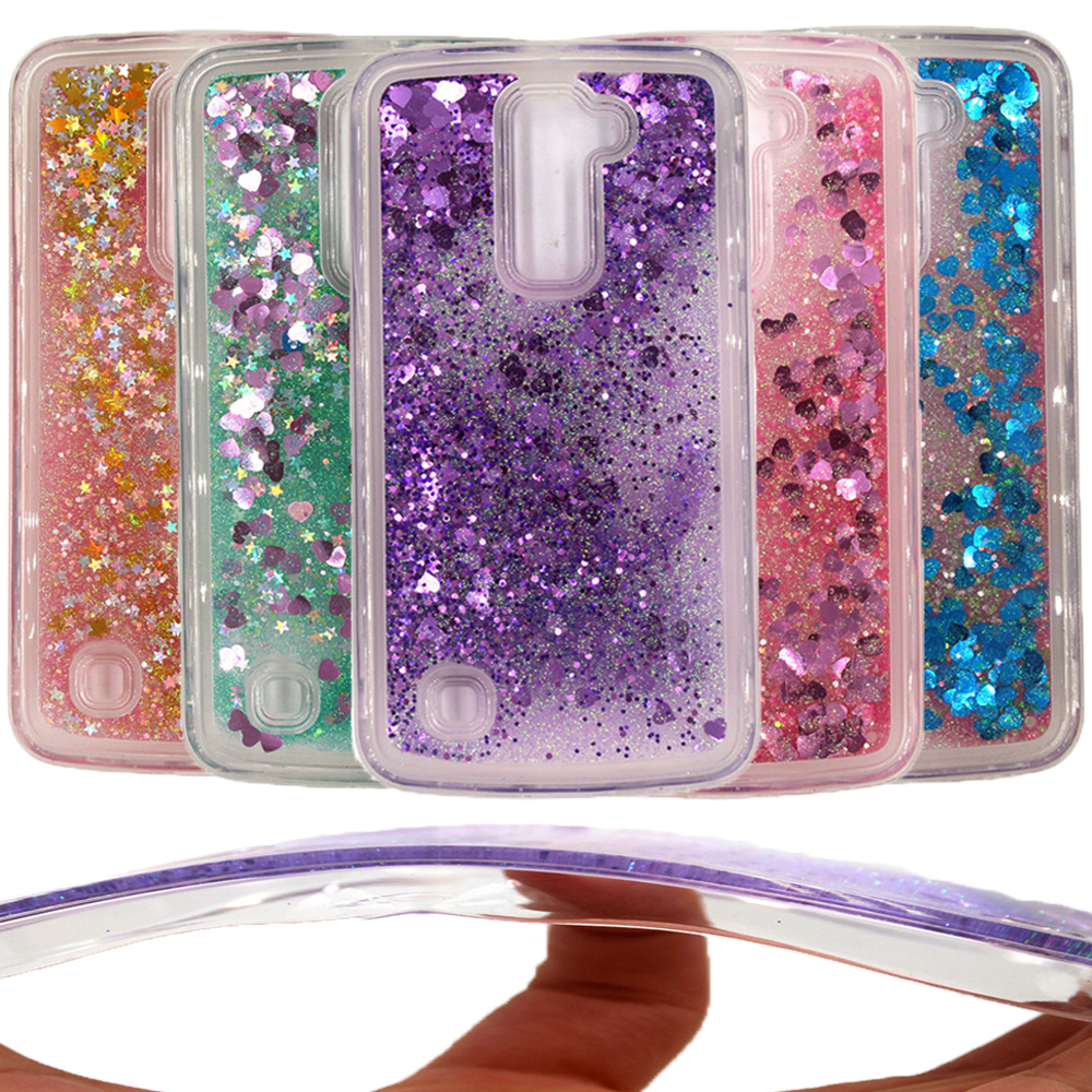 Phone Bags & Cases Sincere Dynamic Liquid Glitter Heart Star Quicksand Soft Tpu Cases Sfor Lg K10 K 10 Lte K420n K430 K430ds 5.3 Back Cover Phone Bags Relieving Rheumatism Cellphones & Telecommunications