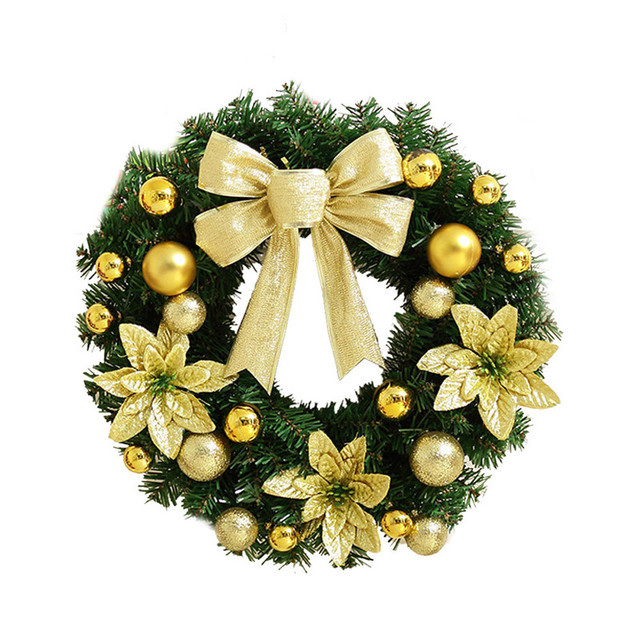 comfortable life christmas pendant artificial xamsholiday wreath berries snowflake decorations wholesale free shipping 10211 - Christmas Wreath Decorations Wholesale