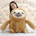 """27 """" 70 cm tamanho grande New chegou preguiça de pelúcia Toy preguiça macio Stuffed boneca bonito preguiça de pelúcia simulação presente preguiça boneca"""