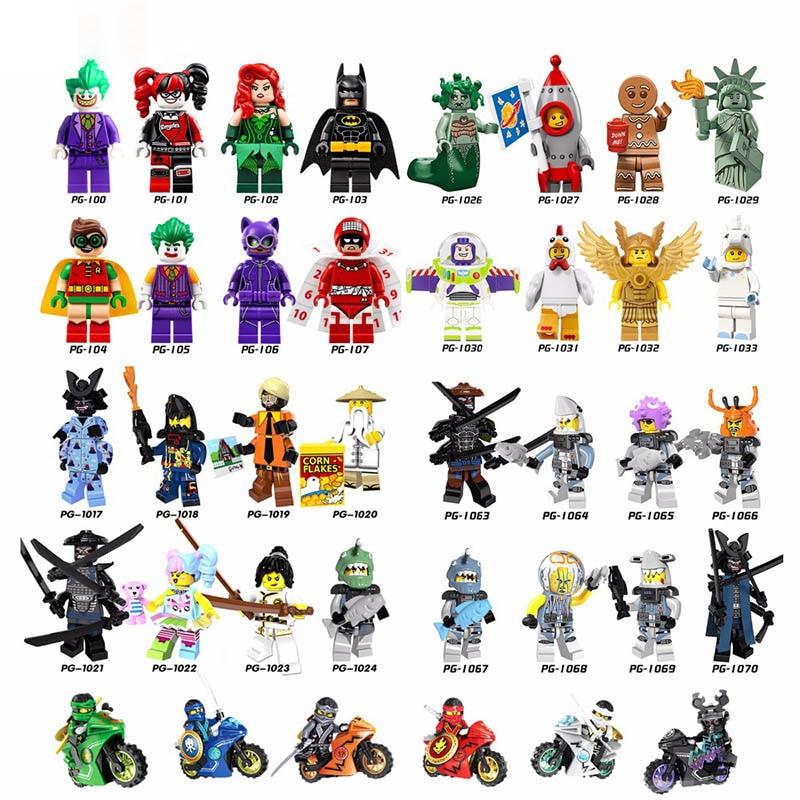2018-Hot-Ninjago-Building-Blocks-toys-Compatible-legoINGly-Ninja-Master-Wu-NYA-Mini-Bricks-figures-for