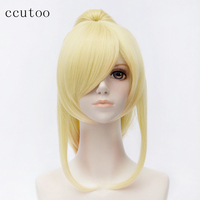 Ccutoo 50cm Long Straight Styled Synthetic Wig Your Lie In April Miyazono Kaori Cosplay Wig Removable