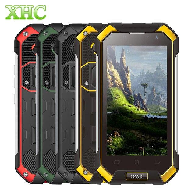 Blackview BV6000 Смартфон Android 6.0 LTE 4 Г 3 ГБ + 32 ГБ IP68 Водонепроницаемый 4500 мАч 4.7 ''Экран MT6755 Octacore 2.0 ГГц Мобильного Телефона