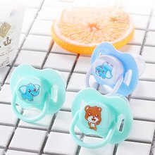 2019 Bayi Baru Lahir Food Grade Silicone Puting Penenang Dot Bayi Ortodontik Teether(China)