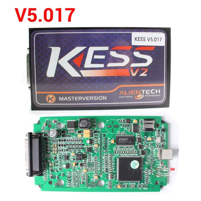 New Online Version KESS V5 017 KESS V2 5 017 No Token Limited KESS 5 017