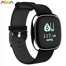 SmartBand P2 часы артериального давления сердечного ритма Мониторы smart electronics фитнес-Браслет Шагомер трекер Smart Band Android