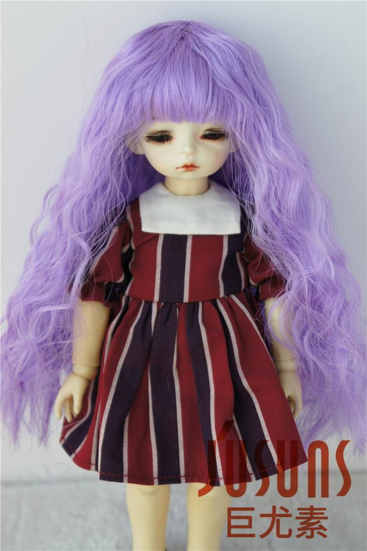 JD085 1/12 1/8 1/6 Lovely curly Kanekalon Fiber bjd doll wigs size 3-4 inch 5-6 inch 6-7inch Fairy suzub hair uncle 1 3 1 4 1 6 doll accessories for bjd sd bjd eyelashes for doll 1 pair tx 03