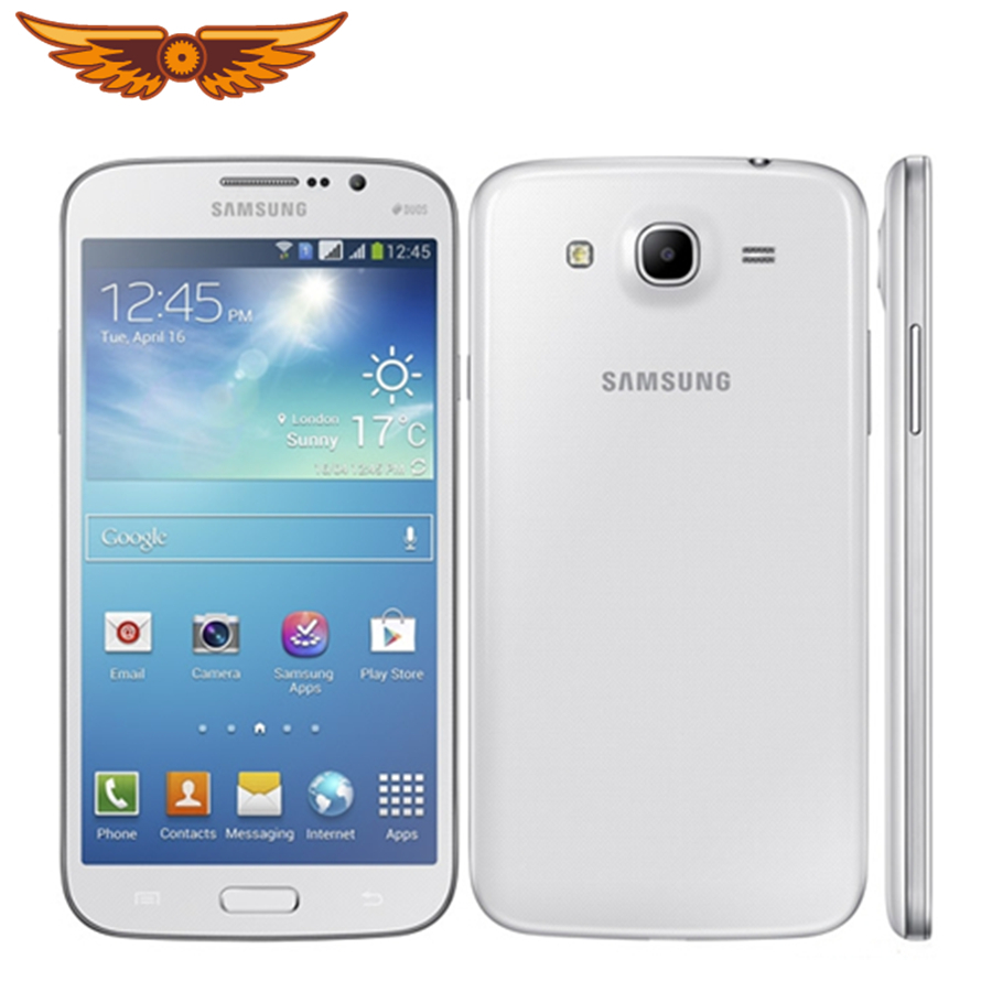 I9158 Original Unlocked Samsung Galaxy Mega gt-i9158 GPS 5.8`` 8MP Camera 8GB ROM+1.5GB ROM WIFI Touchscreen Smartphone