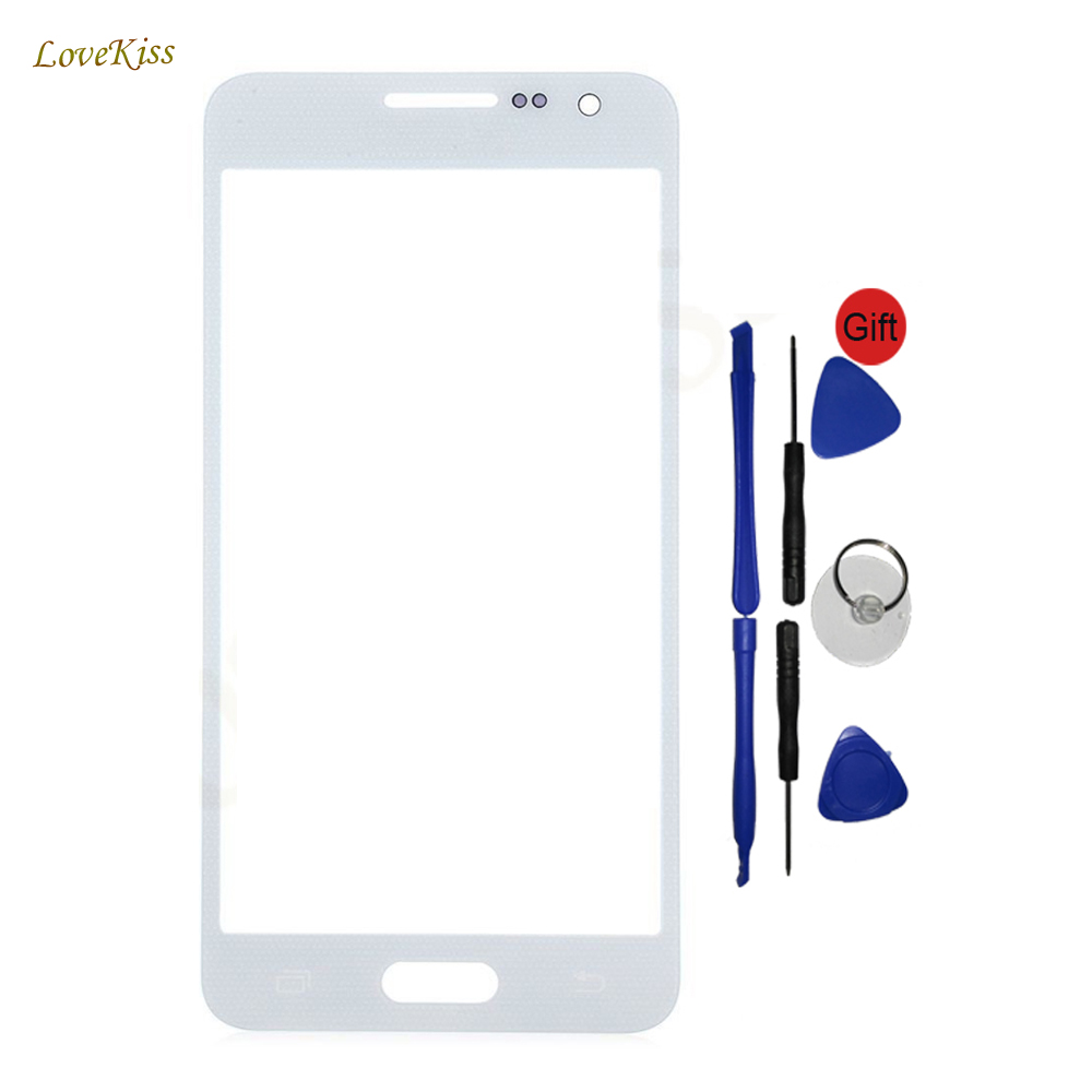 Touch Panel For Samsung <font><b>Galaxy</b></font> A3 A5 A7 2015 <font><b>SM</b></font> A300F <font><b>A500F</b></font> A700F Touch Screen Front Glass Cover Replacement Tools image