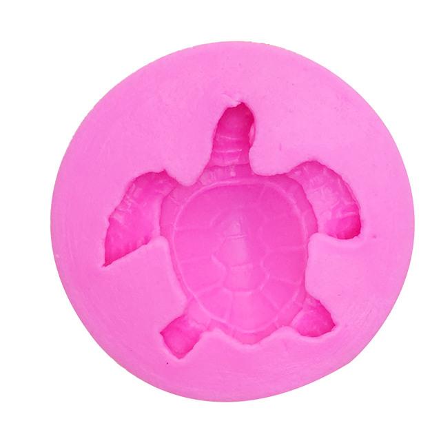 M1024 Sea turtle Shape Silicone Mold Cake Fondant Paste DIY Tortoise Silicone Decorating Mould Chocolate Gum Paste Soap molds