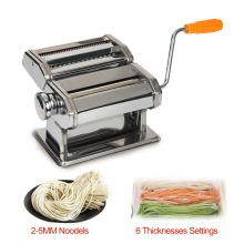 Stainless Steel Manual Noodle Press Machine Household Multifunctional Dumplings Wonton Skin Rolling Machine with Hand Crank недорого