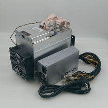 Used AntMiner T9 10 5T Asic Bitcoin BCH BTC Miner With BITMAIN 1600W PSU Economic Than