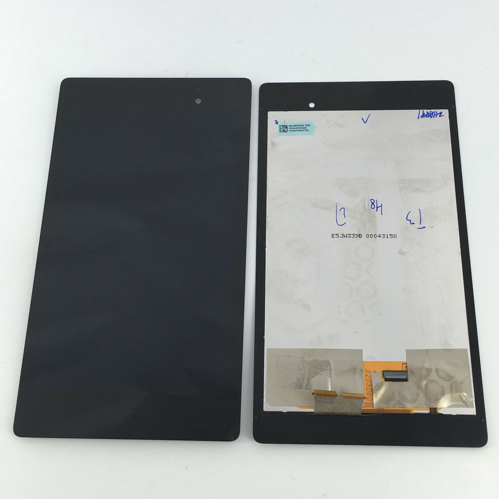 цена на LCD Display Monitor Touch Screen Panel Digitizer Assembly for Asus Google Nexus 7 2nd Gen 2013 ME571K ME571KL K008 Wifi Version