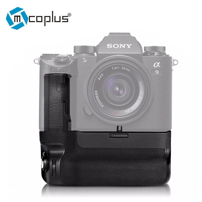 Meike MK-A9 Vertical Battery Handle Hand Grip For Sony Alpha A9 A7R III A7RIII Camera meike mk x1em metal bracket hand grip for sony a9 a7miii a7riii a7rii a7ii a7sii camera