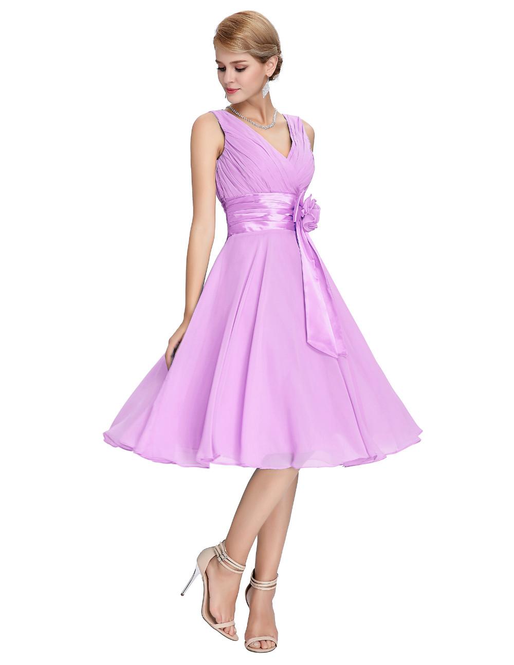 HTB1J36TMVXXXXcnXVXXq6xXFXXXkKnee Length Short Chiffon Blue Dress