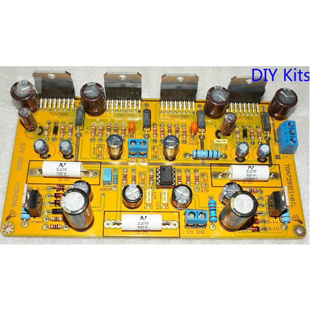 Tda7293 Parallel Circuits Btl Hifi Power Amplifier Board Ne5532 23 W Mono Schematic Subwoofer Amp 200 400w Diy Kits In From Consumer Electronics On