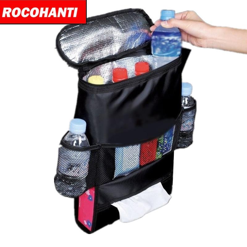 Black Cooler bag Home Food Beverage Storage Organization insulated Container Basket Picnic Dinner bag Ice pack item product