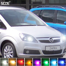 Voor Opel Zafira B (A05) Omega B Limo. met Xenon SCOE2X12SMD LED Front Parking Light Front Side Marker Lichtbron Car Styling(China)