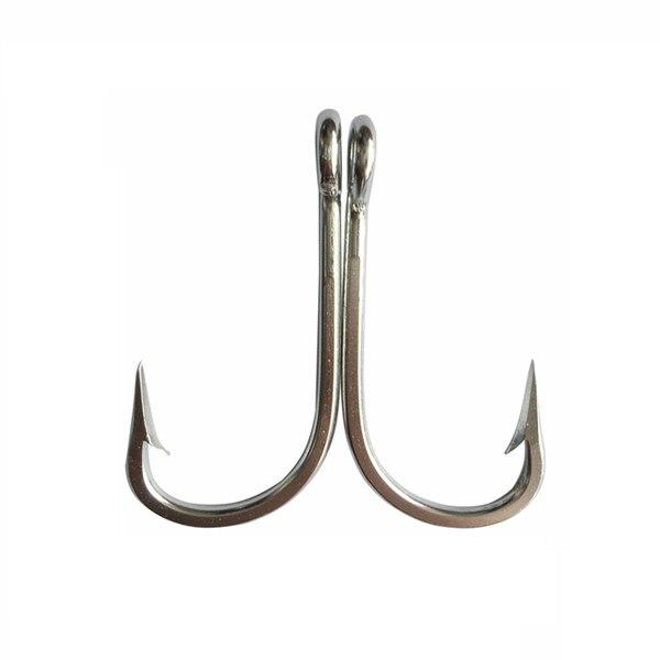 CN02 10pcs  Mustad Fish Hook Stainless Steel Fishing Jigging Big Game