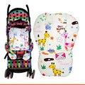 Suave espesar Pram punto colorido cojín bebé carro cojín del asiento cochecito de algodón Pad estera cochecito para los niños Puset Minderi