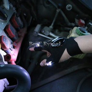 Image 3 - Y1G 1pcs Right hand  Lighting glove Night car repair glove led light Night fishing lamp glove