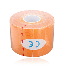 SZ-LGFM-1 Roll Muscles Care Fitness Athletic Health Tape 5M * 5CM – Orange