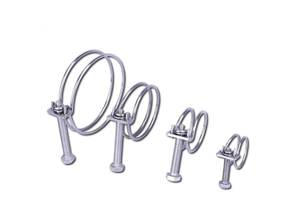 60Pc Fuel Line Hose Spring Clips Water Pipe Air Tube Clamps 6//8//10//12//14//15mm UK