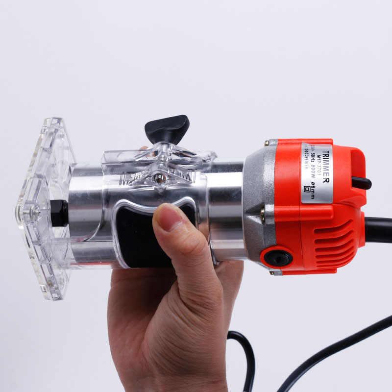 220V/650W elektryczne przycinanie drewna dłutownica grawerowanie elektromechaniczne drewno frezowanie drewna narzędzia