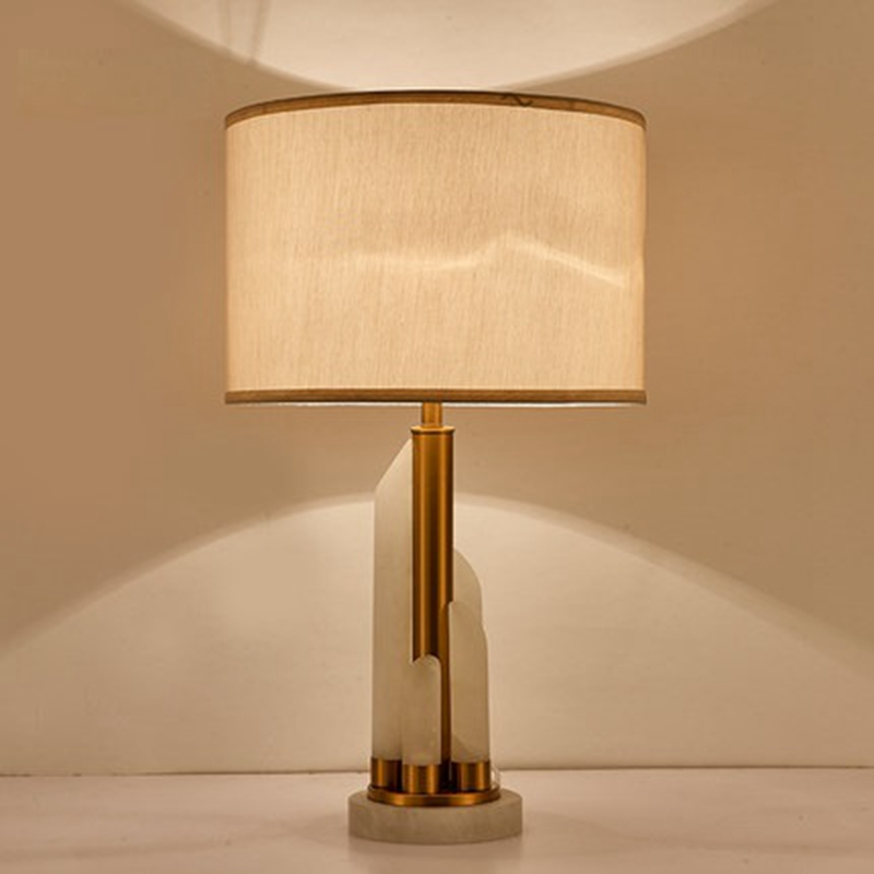 US $139.86 7% OFF|LukLoy Postmodern Fashion Table Lamp Nordic Jade Light  Luxury Gold Living Room Bedroom Decoration Lamp Study Table Bedside  Light-in ...