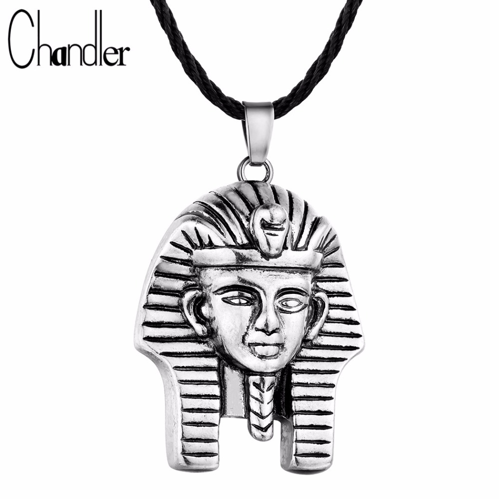 HTB1J37fSXXXXXa6aXXXq6xXFXXXO - Chandler Pharaoh Pendant Necklace For Men/Women Vintage Egypt Egyptian King Classic Old Jewelry Amulet God Jewelry