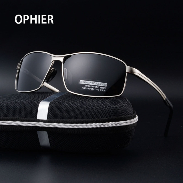 OPHIER Classic Brand Designe Men's Polarized Sunglasses Male Driving Mirror Sun Glasses For Men Sunglass Eyewears Accessories