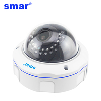 Smar 720P 1080P CCTV IP Camera Zoom 2 8 12mm Manual Lens Indoor Dome Home Security