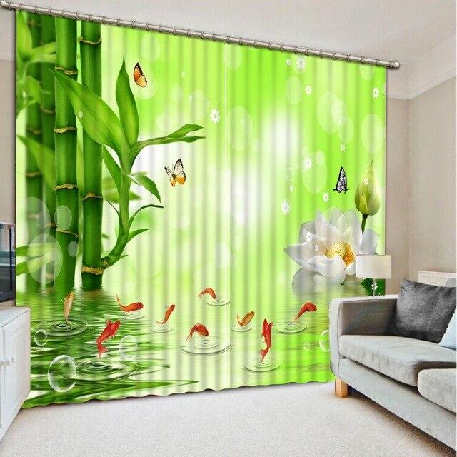 US $49.2 59% OFF Einfache schlafzimmer design 3d vorhang bambus haus und  garten top verkäufer 3d vorhang in Einfache schlafzimmer design 3d vorhang  ...