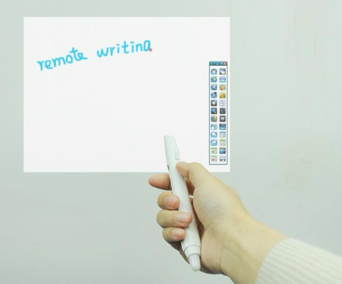Projector Laser Pen 850nm Wave Length Infrared Whiteboard Electronic Pen For Portable Infrared Interactive Whiteboard