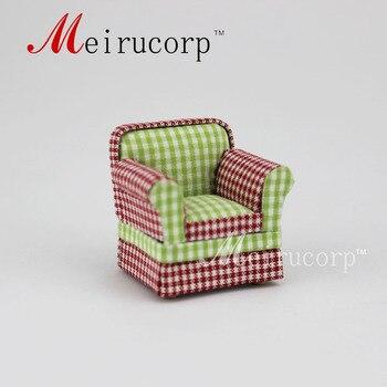 цена на Fine 1/24 Scale Miniature Furniture Lattice pattern chair