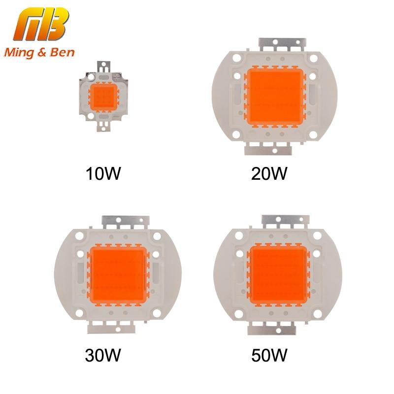 LED мъниста чип 10W 20W 30W 50W пълен спектър - Професионално осветление - Снимка 4