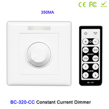 BC-320-CC Knob style CC PWM LED Dimmer DC12-48V 350mA/700mA single channel wall dimmer switch controller for led light