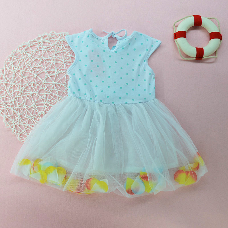Clearance Promotion Kid Baby Girl Lace Dress Petal Bow Sleeveless Dress For Girl Children Clothes