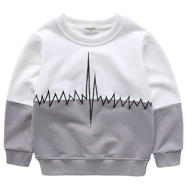 Ropa para niños de niños y niñas sudaderas con capucha de la moda suéter bordado suéter suéter para niños hacen GD-02