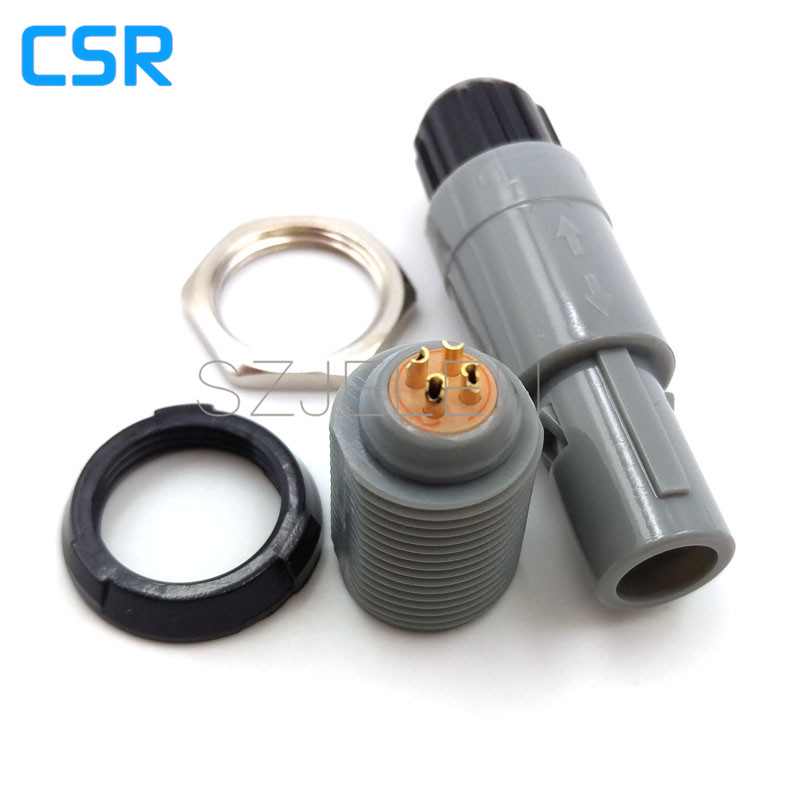 SZJELEN 1P Series 4 pin connector PAG/PLG, Medical Accessories 4 pin connector,  circular plastic connectors [vk] 553602 1 50 pin champ latch plug screw connectors